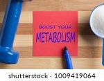 boost your metabolism written... | Shutterstock . vector #1009419064