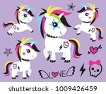 vector illustration of cute... | Shutterstock .eps vector #1009426459