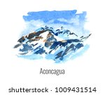 watercolor illustration of the... | Shutterstock . vector #1009431514
