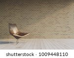 3d render  chair with mock up... | Shutterstock . vector #1009448110