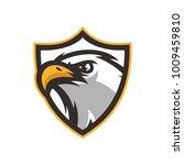 eagle head logo icon vector... | Shutterstock .eps vector #1009459810