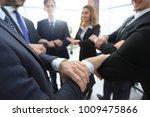 closeup. unified business team . | Shutterstock . vector #1009475866