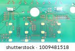printed circuit board layout ... | Shutterstock . vector #1009481518