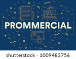 conceptual business... | Shutterstock . vector #1009483756