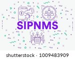 conceptual business... | Shutterstock . vector #1009483909