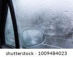 view of a car side mirror from... | Shutterstock . vector #1009484023
