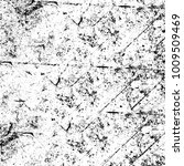 grunge black and white pattern. ... | Shutterstock . vector #1009509469