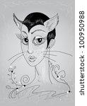 catwoman | Shutterstock .eps vector #100950988