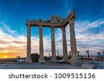the temple of apollo in side... | Shutterstock . vector #1009515136