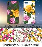 original rose patterns for...   Shutterstock .eps vector #1009520500