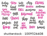 blog modern ink brush... | Shutterstock .eps vector #1009526608