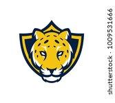 animal head   jaguar   vector... | Shutterstock .eps vector #1009531666