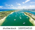 aerial photograph of the spit... | Shutterstock . vector #1009534510