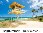 Lifeguard Tower At Main Beach...