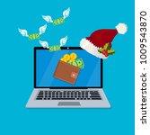 vector illustration of spending ... | Shutterstock .eps vector #1009543870