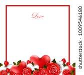 happy valentines background   Shutterstock .eps vector #1009546180