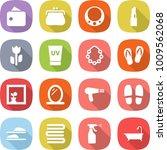 flat vector icon set   wallet... | Shutterstock .eps vector #1009562068