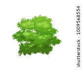 cartoon bush illustration.... | Shutterstock .eps vector #1009568554