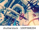 equipment  cables and piping as ... | Shutterstock . vector #1009588204