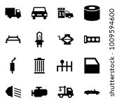 origami style icon set   car... | Shutterstock .eps vector #1009594600