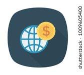 world planet earth  | Shutterstock .eps vector #1009605400
