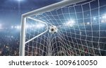 professional soccer stadium...   Shutterstock . vector #1009610050