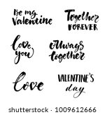 love and valentines day... | Shutterstock .eps vector #1009612666