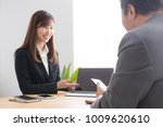 asian businessman and... | Shutterstock . vector #1009620610
