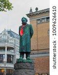 The Statue Of Henrik Ibsen...