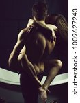 young sexual passionale sensual ... | Shutterstock . vector #1009627243