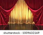3d rendering  theater stage ...   Shutterstock . vector #1009632169