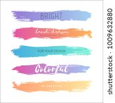 grunge hand drawn stripes.... | Shutterstock .eps vector #1009632880