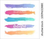 grunge hand drawn stripes.... | Shutterstock .eps vector #1009632880