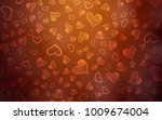 light red vector template with... | Shutterstock .eps vector #1009674004