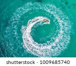 people are playing a jet ski in ... | Shutterstock . vector #1009685740