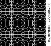 seamless geometric pattern.... | Shutterstock .eps vector #1009686244