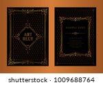 the great gatsby vector  art... | Shutterstock .eps vector #1009688764
