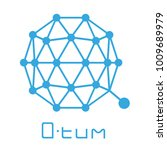 qtum coin cryptocurrency sign | Shutterstock .eps vector #1009689979