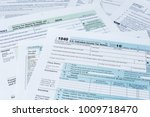 collection of irs federal... | Shutterstock . vector #1009718470
