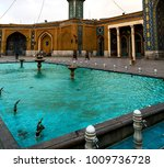 blur in iran  and old antique... | Shutterstock . vector #1009736728