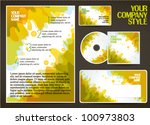 company style template | Shutterstock .eps vector #100973803