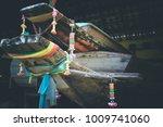 vintage boat. thailand boat... | Shutterstock . vector #1009741060