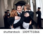 parents congratulate the... | Shutterstock . vector #1009751866
