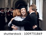 parents congratulate the... | Shutterstock . vector #1009751869