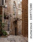 stone old city jaffa in tel aviv   Shutterstock . vector #1009772380
