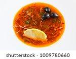 solyanka   russian traditional...   Shutterstock . vector #1009780660