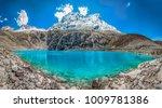 Stock photo lake huascaran huaraz peru 1009781386