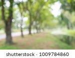 blur of city park bokeh... | Shutterstock . vector #1009784860