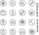 line vector icon set   baby... | Shutterstock .eps vector #1009785820