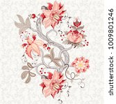 rapport for ornament. beautiful ... | Shutterstock . vector #1009801246